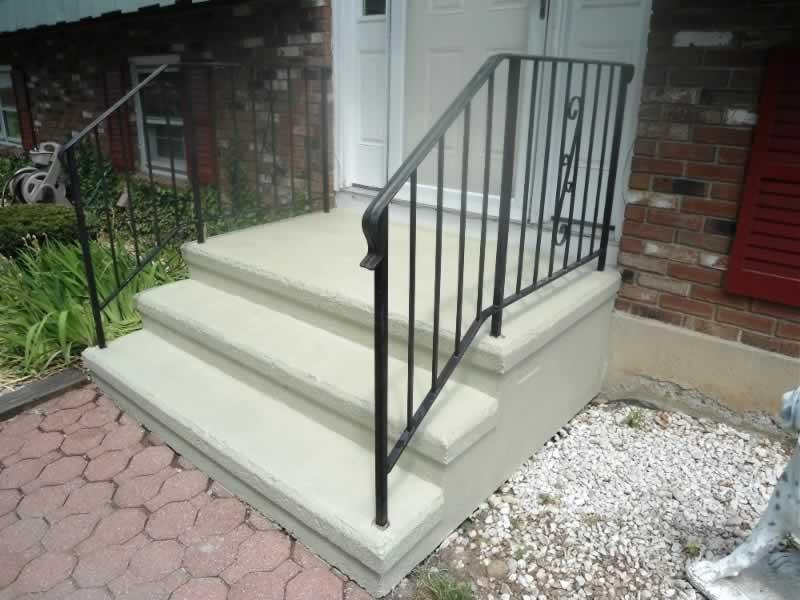 Front Steps Roller Rock Ivory 2