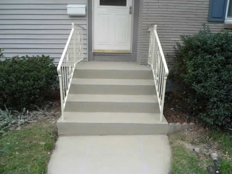 Hamden Front Step & Walkway After RR 2