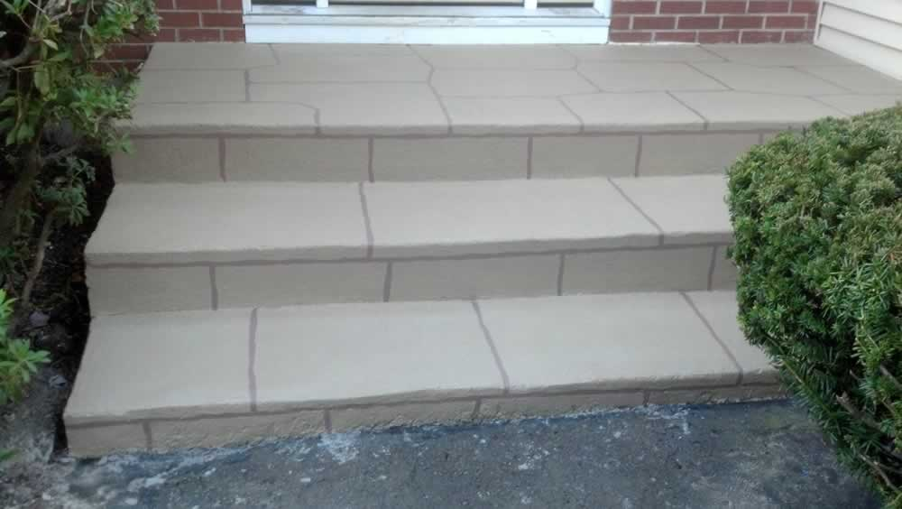 Milford Painted Front Steps RR Coriandor 2