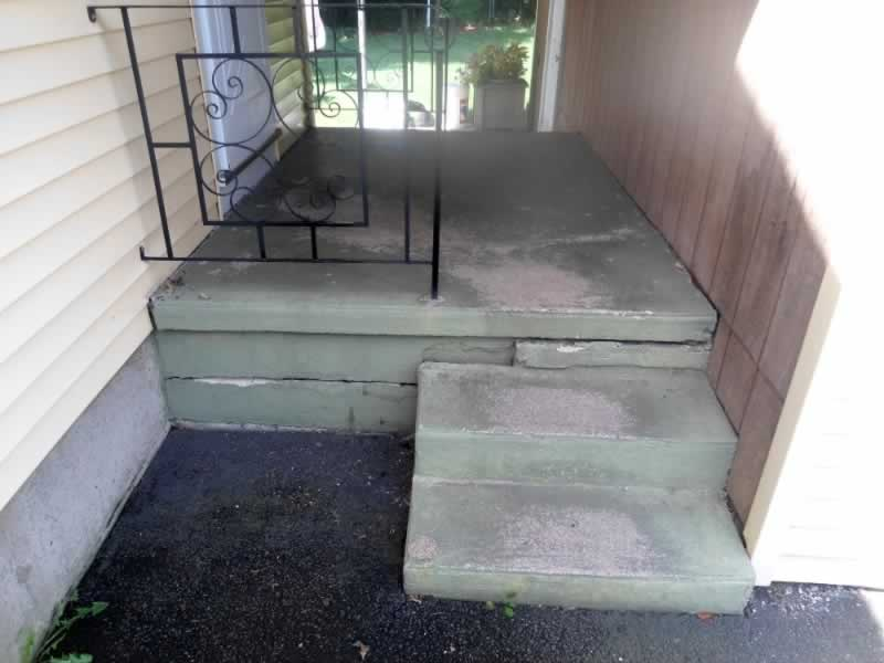 Wallingford Front & Side Steps Before 3
