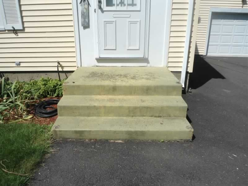 Wallingford Front & Side Steps Before