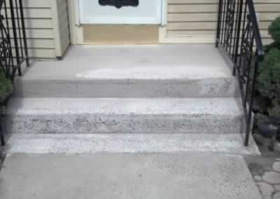 Front Step Before