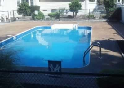 Cheshire Color Stained Pool Deck After 1