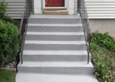 Front Steps and Walkway Affter