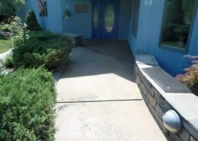 Front Stoop & Walkway Before