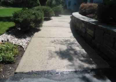 Cheshire Front Stoop & Walkway Before
