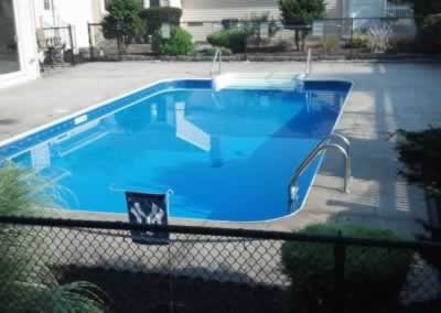 Cheshire Stained Concrete Pool Deck Before 3