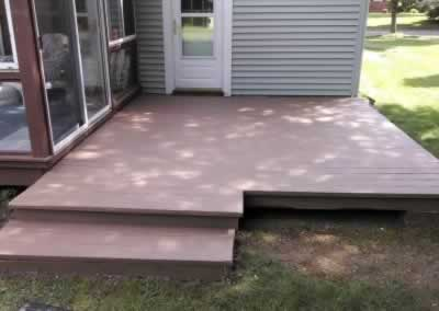 Wood Deck After - Color Earth