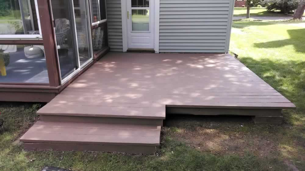 Wood Deck After - Color Earth