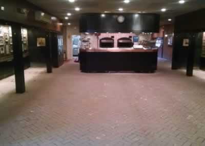 Dinning Room Floor Before