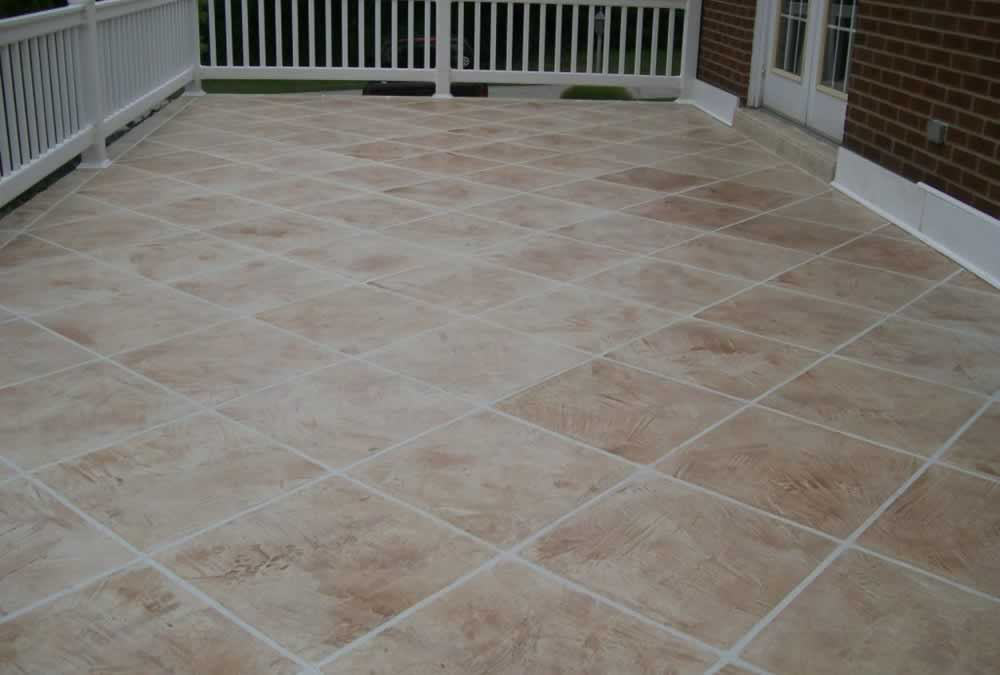Walkways, Patio's & Steps: Trowled Concrete Overlay