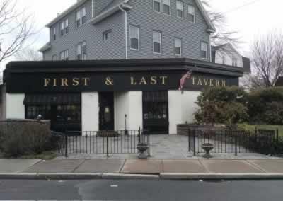First & Last Tavern Dinning Room Floor