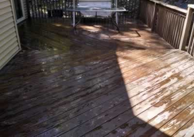 Deck Overlay Before