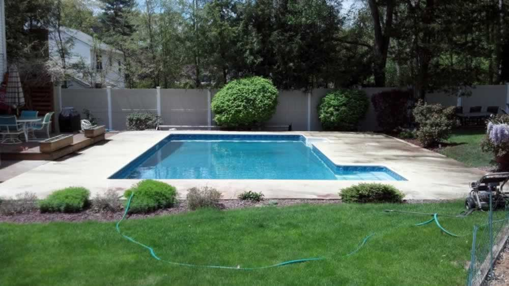 Southington Pool Deck Before