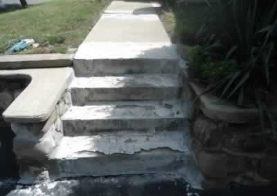 Walkway & Steps Before