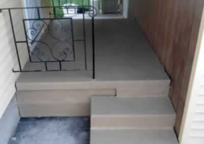 Front & Side Steps After
