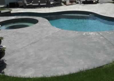 Wallingford Stained Pool Deck Before 3