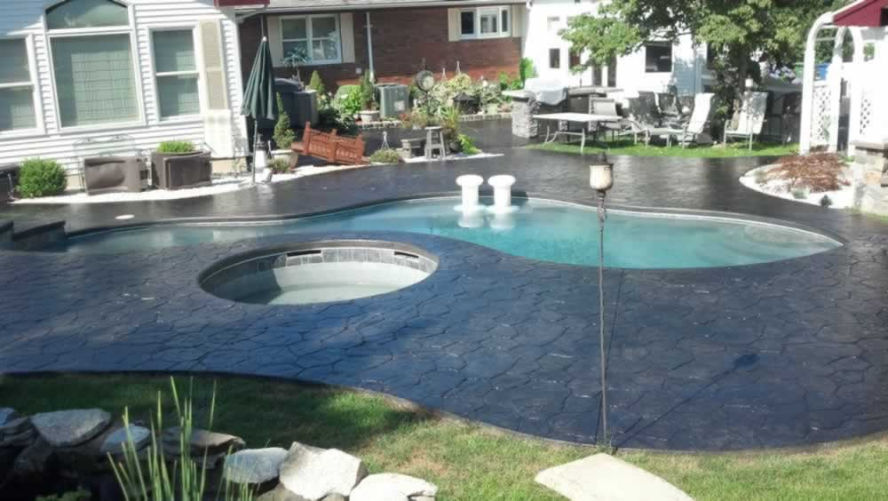 Stained Concrete: Pool Decks & Patio's